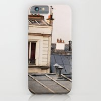 iPhone & iPod Case featuring Paris Rooftop #1 by Alicia Bock