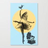 Ballerina Fish Canvas Print