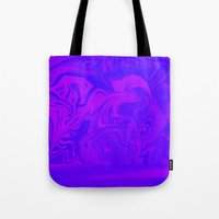Purple and Pink swirls  Tote Bag