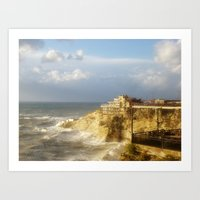 Beirut, Lebanon. After the Rain. Art Print