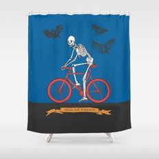 HELL ON WHEELS Shower Curtain