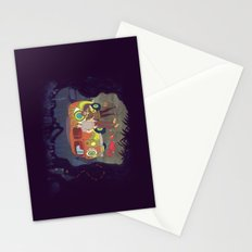 Les Hipsters Mystérieux  Stationery Cards