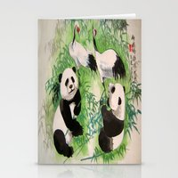 bamboo orchestra Stationery Cards