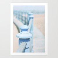 The Summer Seaside  Art Print