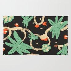 Jungle pattern Rug