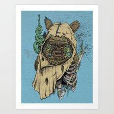 Zombwok Art Print