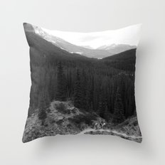 Lets Get Lost, The Valley of Ten Peaks Throw Pillow