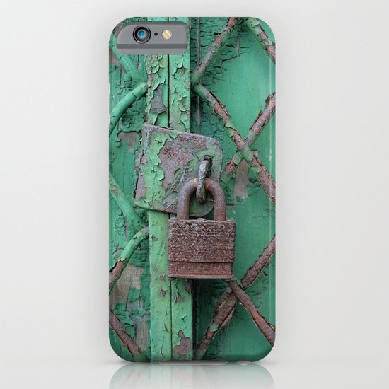 Rusty Lock iPhone & iPod Case