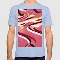 Sorbet Mens Fitted Tee Tri-Blue SMALL