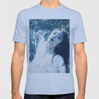 Jasmine Mens Fitted Tee Athletic Blue SMALL
