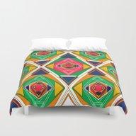 Try Tiles Duvet Cover