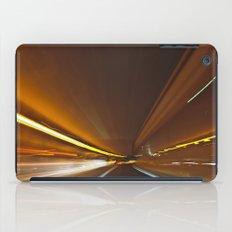Traffic in warp speed iPad Case