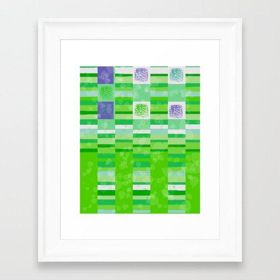 New Leaves Framed Art Print