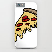 iPhone & iPod Case featuring pizza by mike boyle