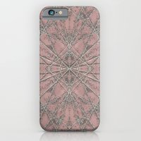 iPhone & iPod Case featuring Snowflake Pink by Project M