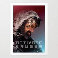 Activate Kruger Art Print