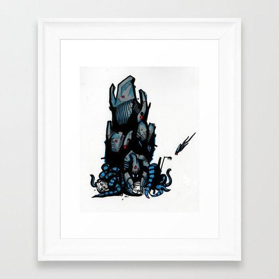 Tripod Framed Art Print