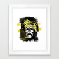 Andy POSTportrait Framed Art Print