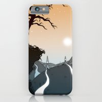 iPhone & iPod Case featuring Mountain paths by Grant Wilson