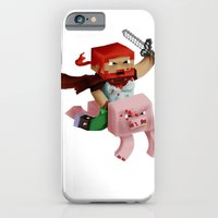 iPhone & iPod Case featuring Minecraft Avatar H00j0 by VerticalSynapse