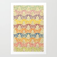 Butterflys In Color Art Print