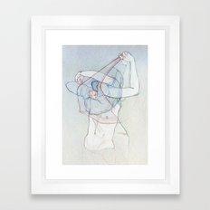 Doble obs. Framed Art Print