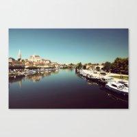 Auxerre Canvas Print