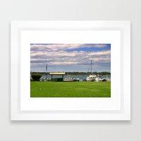 Town Centre - Metung - Australia Framed Art Print