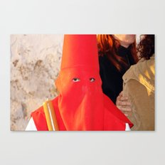 2007 - No KKK I (High Res) Canvas Print