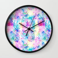 Pineapple Dream Wall Clock