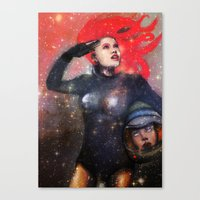Keep Calm & Don't Lose Y… Canvas Print