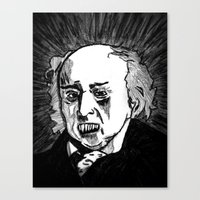 02. Zombie John Adams  Canvas Print