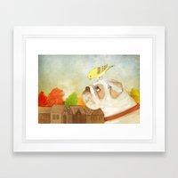 A Song for Sweetie Framed Art Print