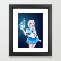 Sailor Frozen Framed Art Print