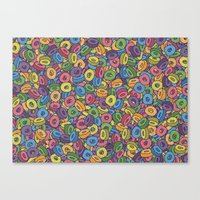 Froot Loops Canvas Print
