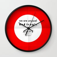 Eggers - We Are Unusual … Wall Clock