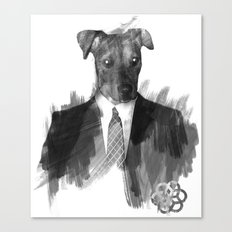 Reservoir Dog Canvas Print
