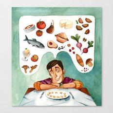 Polish kitchen in Europe Canvas Print