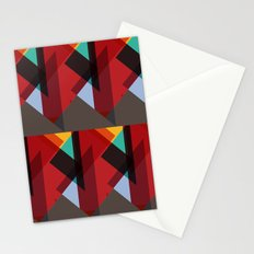 Crazy Abstract Stuff Stationery Cards