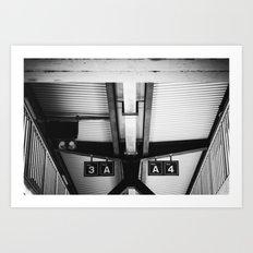 Bahnhof Art Print