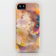 Profile Woman And Flower… iPhone (5, 5s) Slim Case