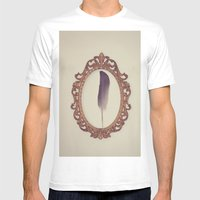 SIMPLISTIC Mens Fitted Tee White SMALL
