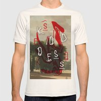 Kindness Mens Fitted Tee Natural SMALL