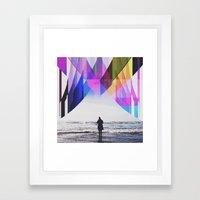 Ocean's Edge  Framed Art Print