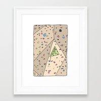 Climbing Wall Framed Art Print