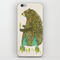 the forest keeper iPhone & iPod Skin