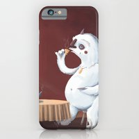 The Yeti Came For Tea iPhone 6 Slim Case