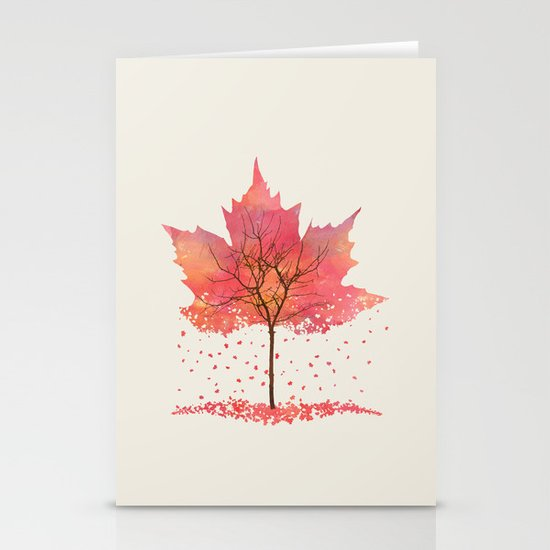 Fall Stationery Card