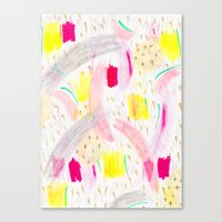Abstract 001 Canvas Print