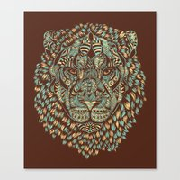Lion (Royal) Canvas Print